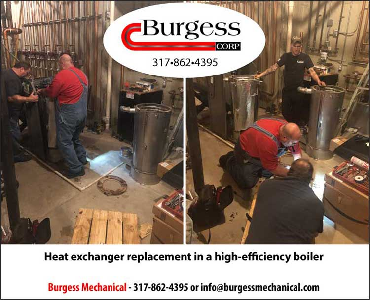 Heat Exchanger Replacement in a High-efficiency Boiler