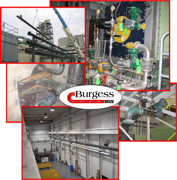 Burgess Mechanical in Indianapolis, IN - industrial piping